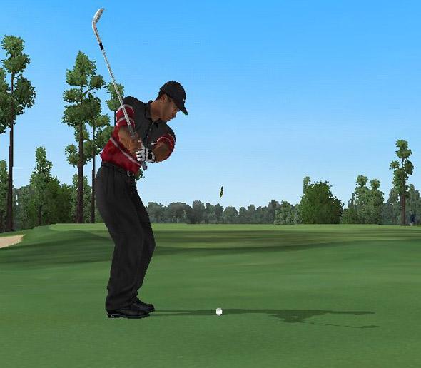 Tiger Woods 2004 screenshot