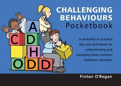 Challenging Behaviours Pocketbook by Fintan O'Regan image