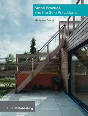 Small Practice and the Sole Practitioner by Marianne Davys Architects Ltd image