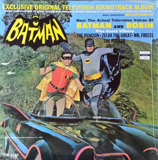 Batman Original TV Soundtrack (LP) by Nelson Riddle Orchestra image
