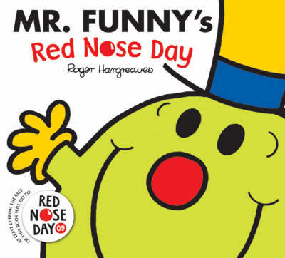 Mr. Funny's Red Nose Day by Roger Hargreaves image