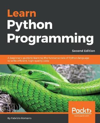 Learn Python Programming by Fabrizio Romano image