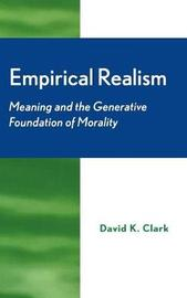 Empirical Realism by David Clark
