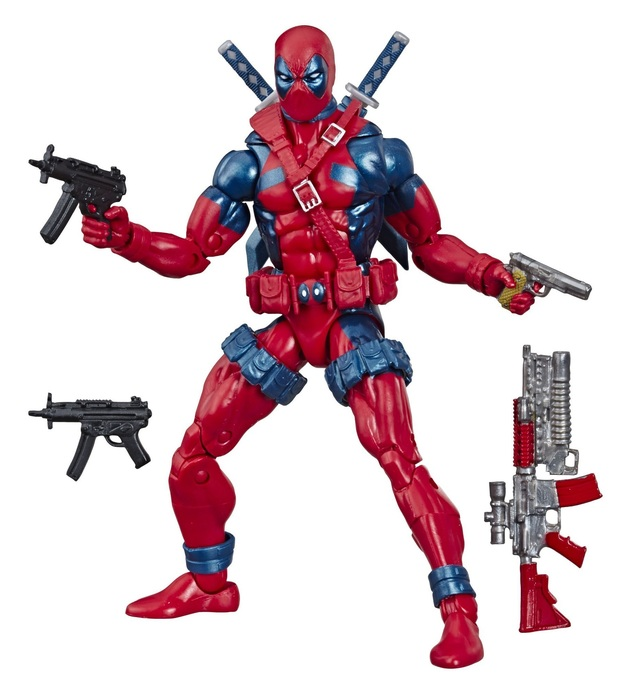 "Marvel Legends: X-Force Deadpool - 6"" Retro Figure"