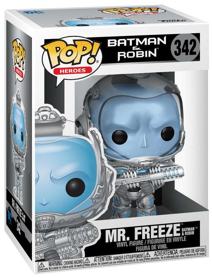 Batman & Robin - Mr Freeze Pop! Vinyl Figure image