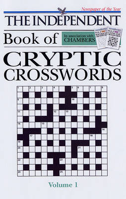 "Chambers ""The Independent"" Cryptic Crosswords: v. 1 image"