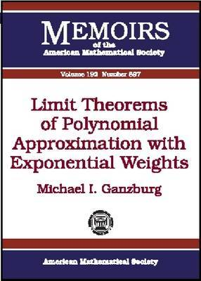 Limit Theorems of Polynomial Approximation with Exponential Weights image