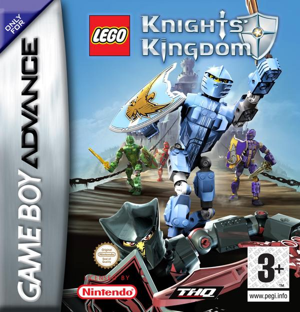 Lego Knights' Kingdom for Game Boy Advance image