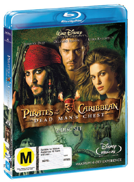 Pirates of the Caribbean - Dead Man's Chest (2 Disc Set) on Blu-ray