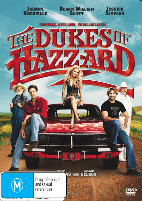 The Dukes of Hazzard on DVD