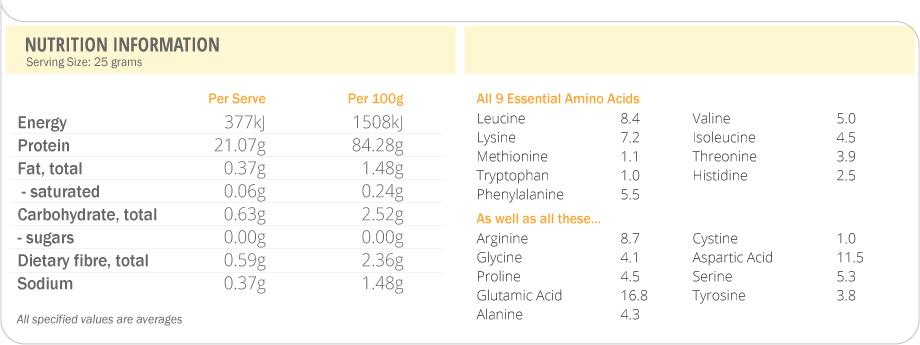 Clean Lean Protein - 500g (Smooth Vanilla) image