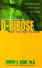 D-Ribose by Edmund R. Burke image