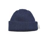 Babu Merino Rib Hat - Navy (3-6 Months)