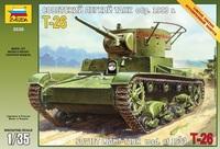 Zvezda: 1/35 Soviet T-26 Tank Model Kit