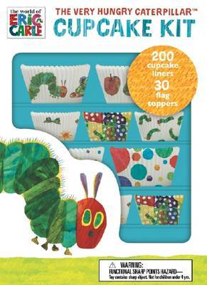 Very Hungry Caterpillar Cupcake Kit