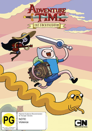 Adventure Time (Collection 10): The Enchiridion on DVD