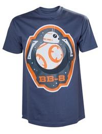 Star Wars: BB-8 & Stars T-Shirt - XL