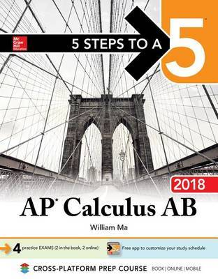 5 Steps to a 5: AP Calculus BC 2018 by William Ma image