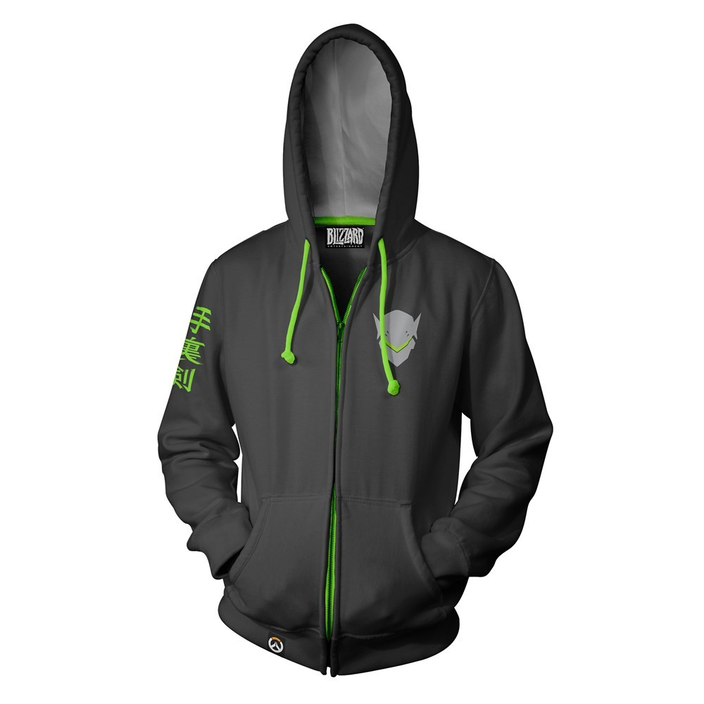 Overwatch Ultimate Genji Zip-Up Hoodie (Large) image