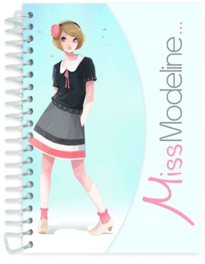 Miss Modeline A6 Notepad and Design Book - Alex image