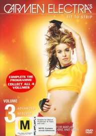 Carmen Electra - Advanced Aerobic Striptease - Volume 3 on DVD image