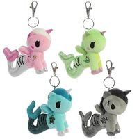 "Tokidoki: Mermicorno Clip-On - 4.5"" Plush (Blind Bag)"