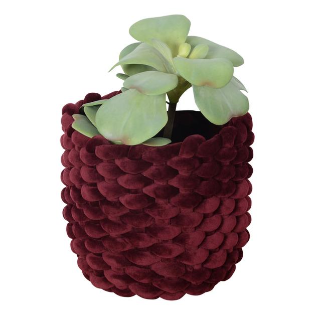 Moxy Velvet Pot Holder (Small) - Burgundy