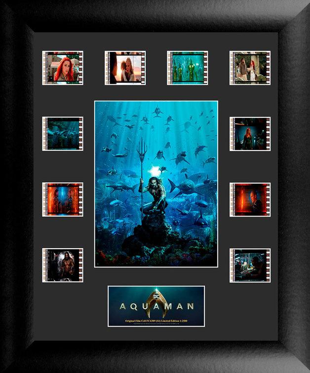 FilmCells: Mini-Montage Frame - Aquaman (Sharks)