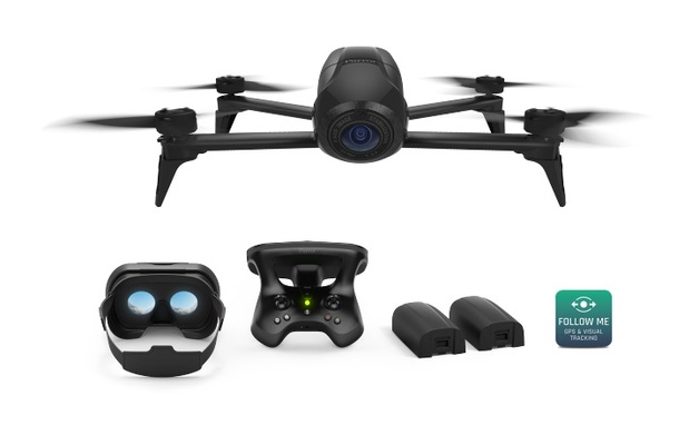 Parrot Bebop2 FPV Power - Lightweight Compact HD Video Drone with FPV Power Pack