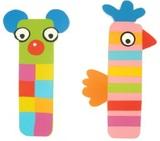 Tatiri Alphabet Letter Crazy Animal - I