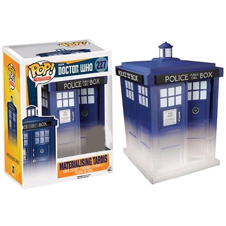 "Tardis (Materializing) - 6"" Pop! Vinyl Figure image"