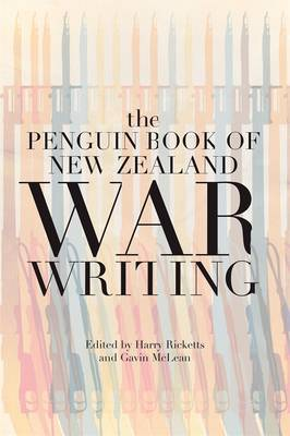 The Penguin Book of New Zealand War Writing by Harry Ricketts image