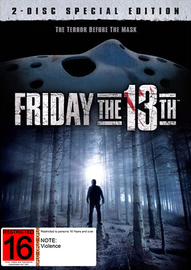 Friday The 13th - Special Edition (2 Disc Set) (1980) on DVD
