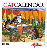 B. Kliban 2018 Wall Calendar