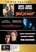 Last Boy Scout / Glimmer Man / The Rookie (1990) - Triple Feature (3 Disc Set) on DVD