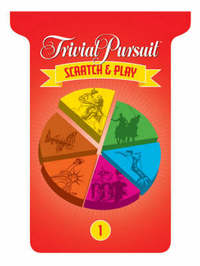 TRIVIAL PURSUIT (R) Scratch & Play #1 by Inc Sterling Publishing Co