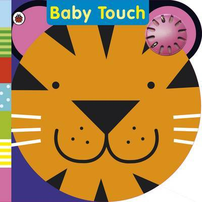 Baby Touch: Tickly Tiger Rattle Book by Justine Swain-Smith image