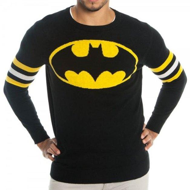 DC Comics: Batman - Intarsia Sweater (Large)