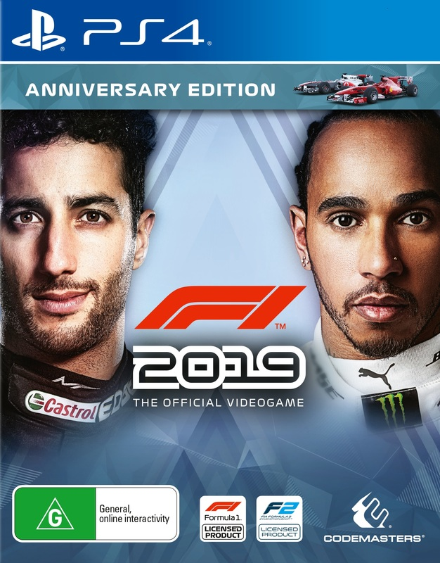 F1 2019 Anniversary Edition for PS4