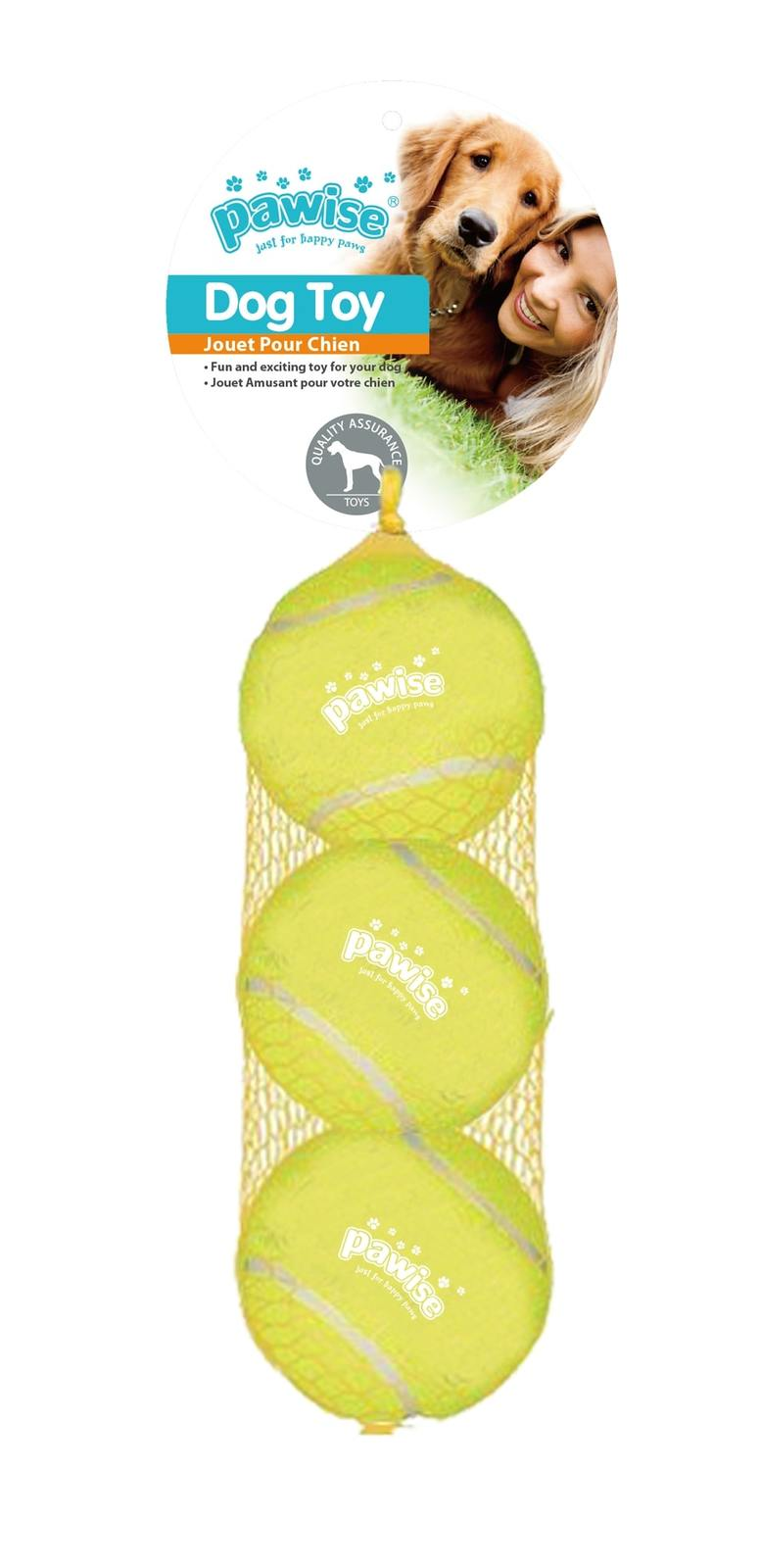 Pawise: Squeaky Tennisball - 6.3 cm image