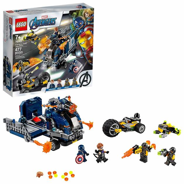 LEGO Marvel: Avengers Truck Take-down - (76143)