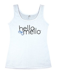 Hello Mello: Tank Top - White (L/XL)