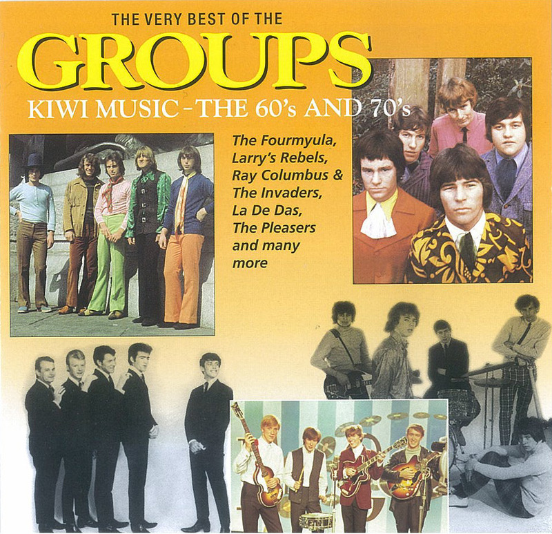 The Very Best Of The Groups: Kiwi Music-The 60's and 70's by Various image