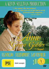 Anne Of Green Gables - The Sequel on DVD