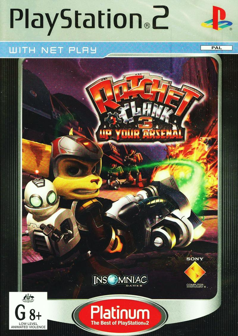 Ratchet & Clank 3: Up Your Arsenal for PlayStation 2 image