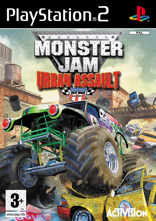 Monster Jam: Urban Assault for PlayStation 2