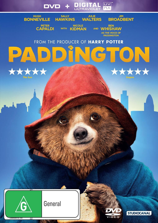 Paddington on DVD image