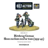 Blitzkreig German - 81mm Medium Mortar team