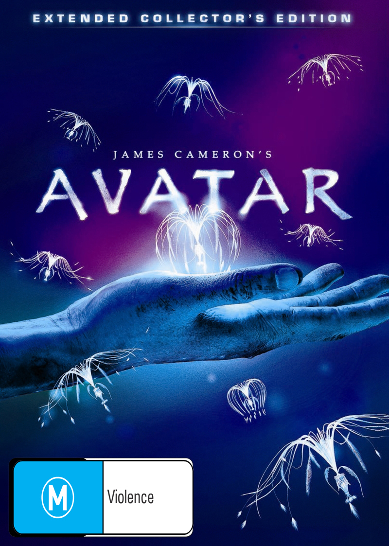Avatar: Extended Collector's Edition (3 Disc Set) on DVD image