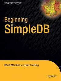 Beginning SimpleDB by Kevin Marshall image